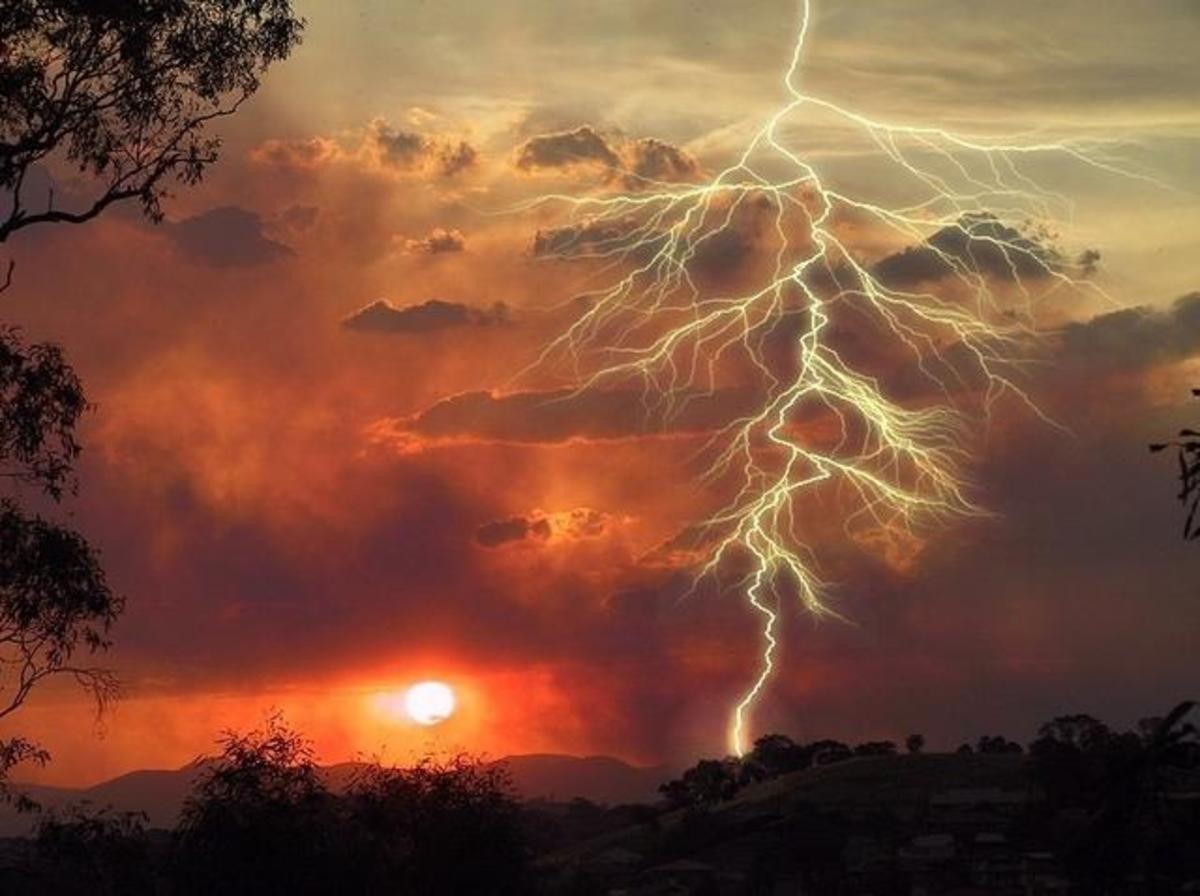 A Kiss can be like that of a lightning strike...