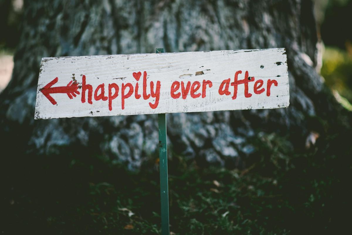 "You always knew that ""happily ever after"" was a fairytale, anyway."