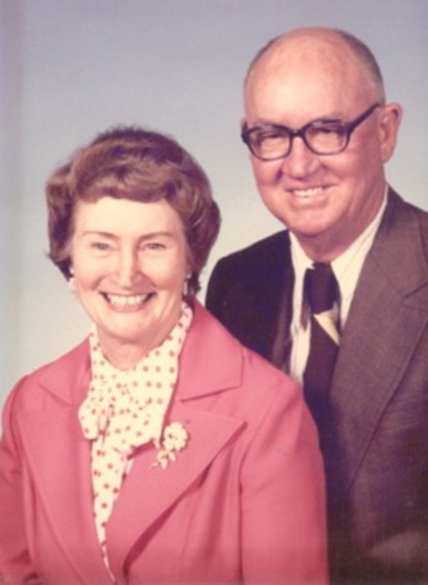 My mom and dad gave us their blessing and helped us through tough places in our marriage with their wise advice.
