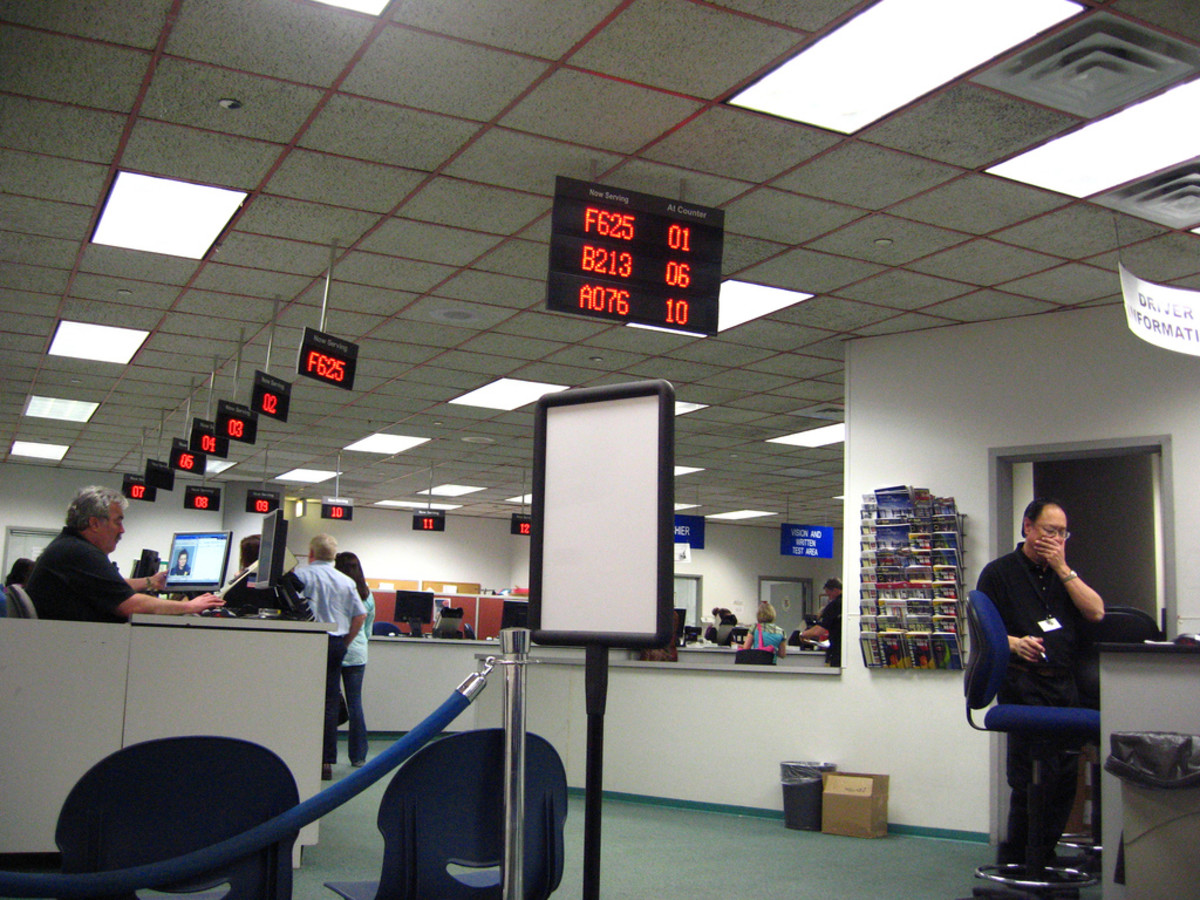 The DMV - democratizing torture