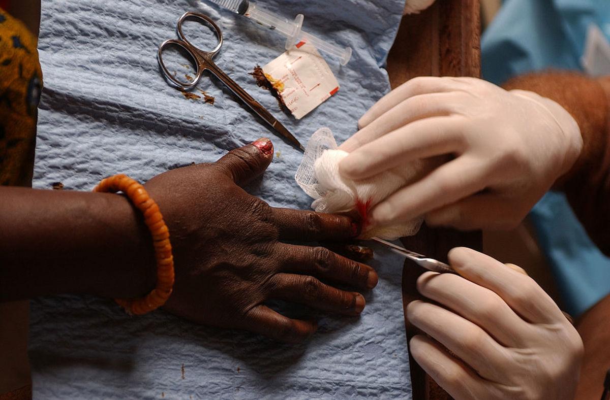 Beautiful hands render help.  Photo by Shane McCoy