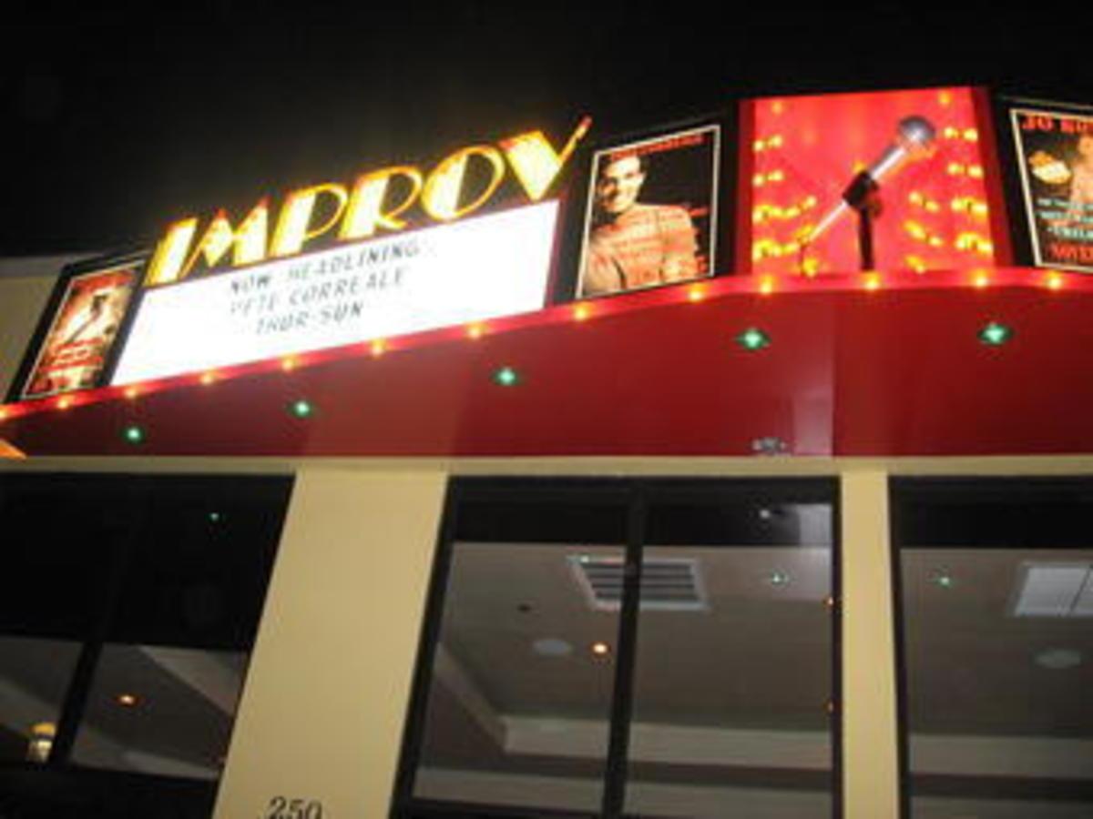 Palm Beach Improv comedy club