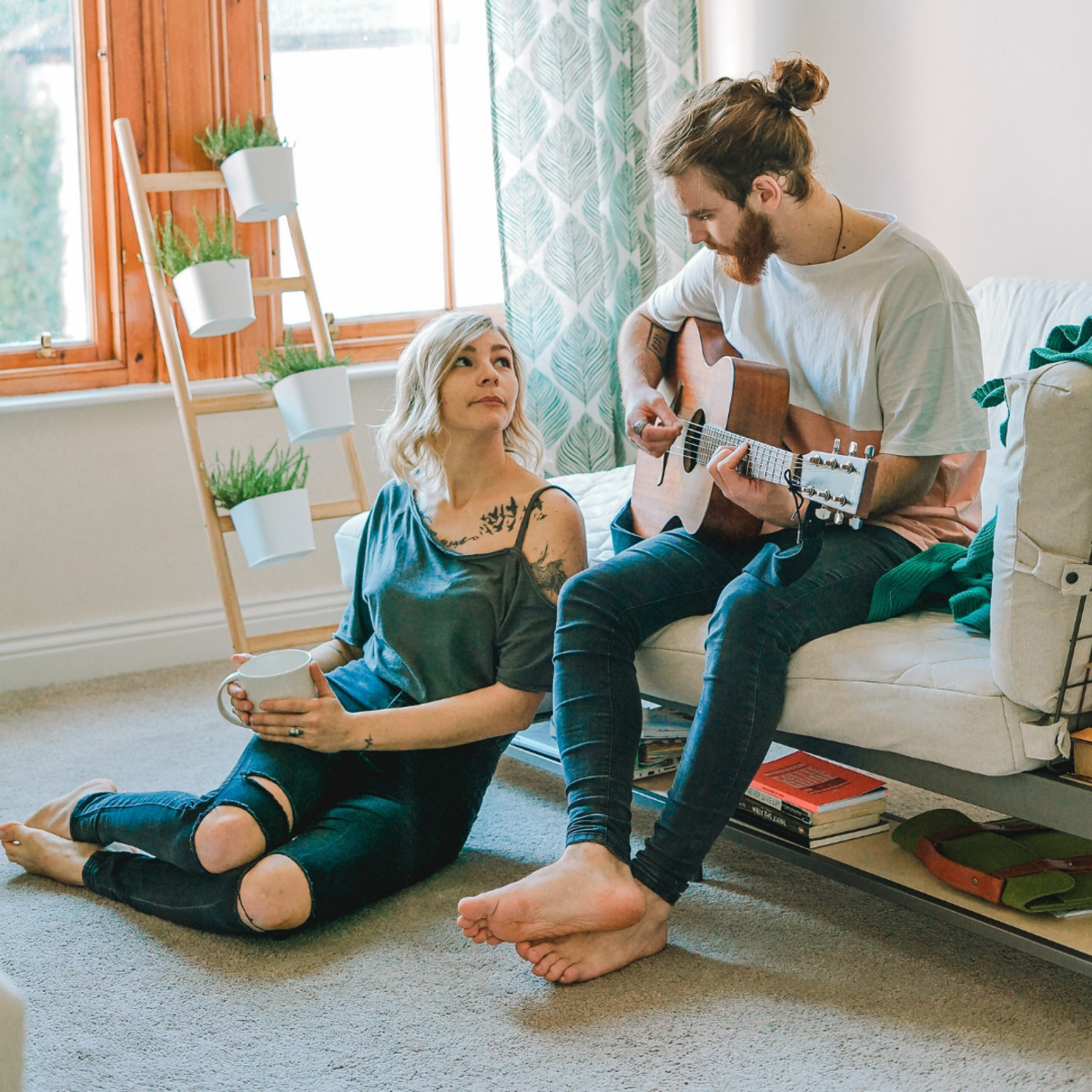 If you're so inclined, you can write your girlfriend a love song or cover one of her favorite songs. Just learn the chords and the vocal melody and you'll be set.
