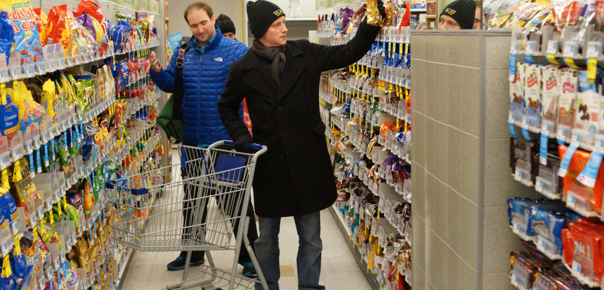 Image result for blocking a grocery aislshopping free image