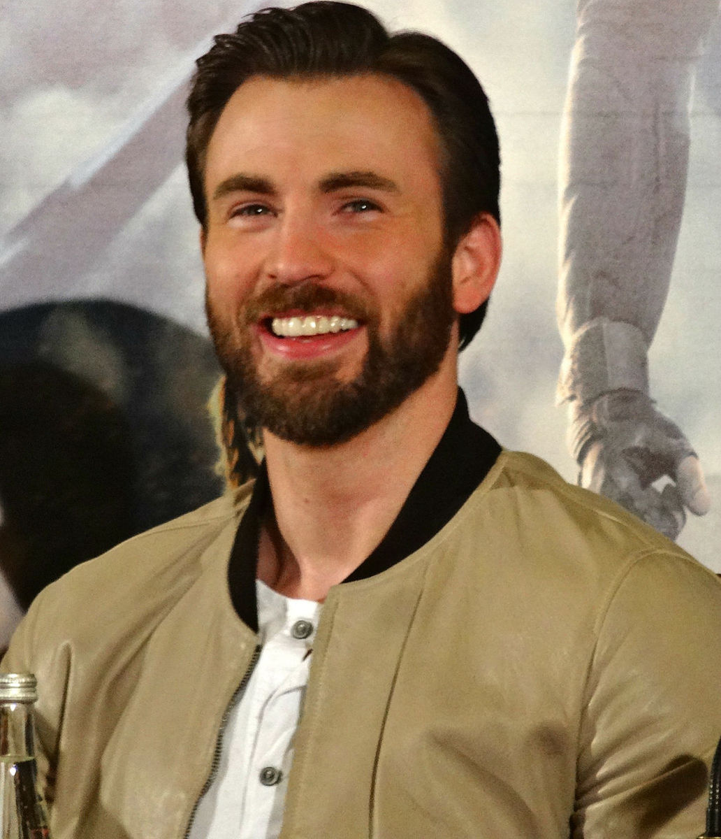 "Chris Evans. Have you seen him as ""The Flame"" in Fantastic Four? Talk about having the ""whole package."""