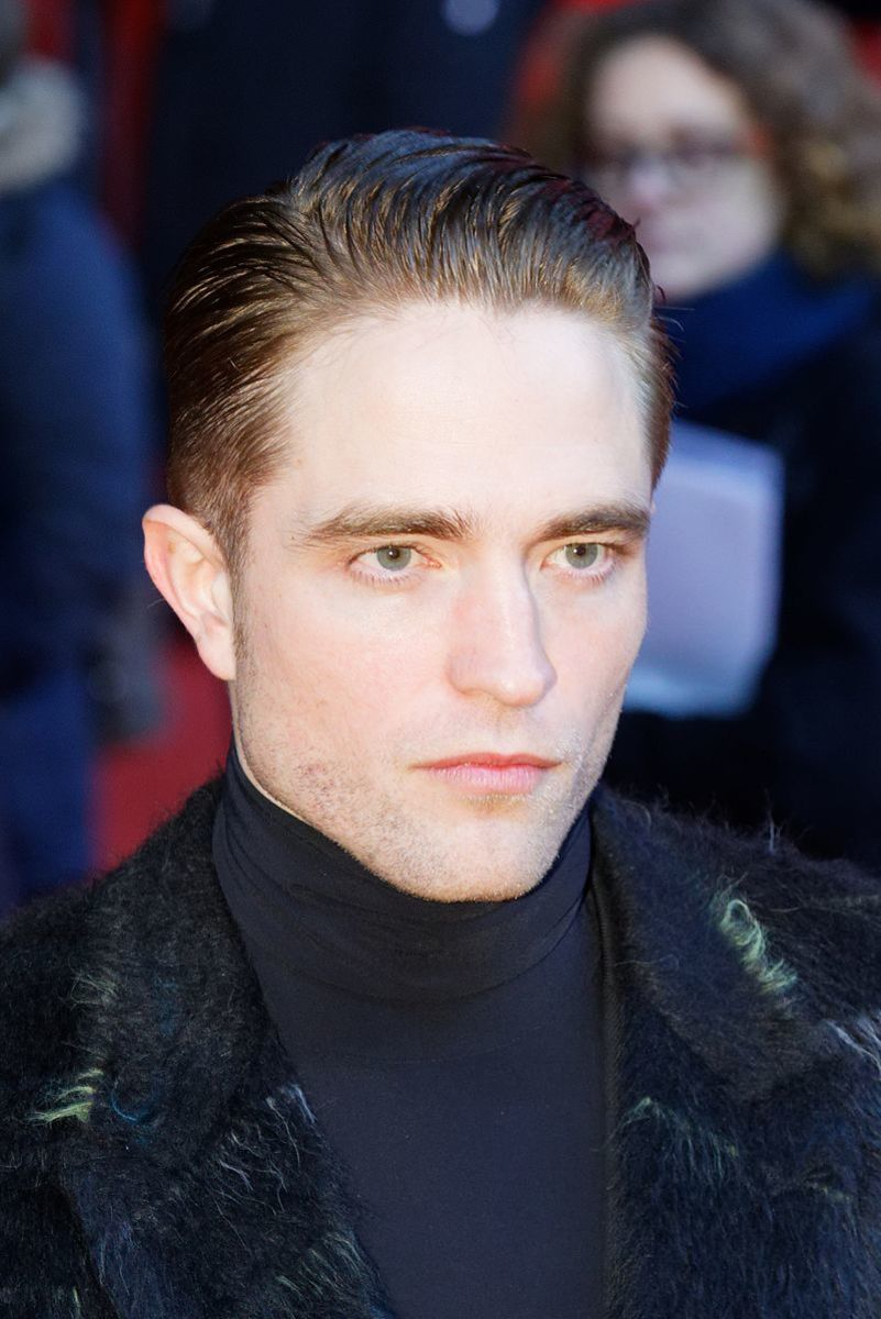 Robert Pattinson. There's just something about the intensity of those eyes.