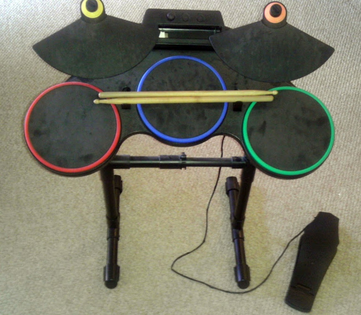 The loneliest drum set. Bring in a friend and your band automatically gets cooler.