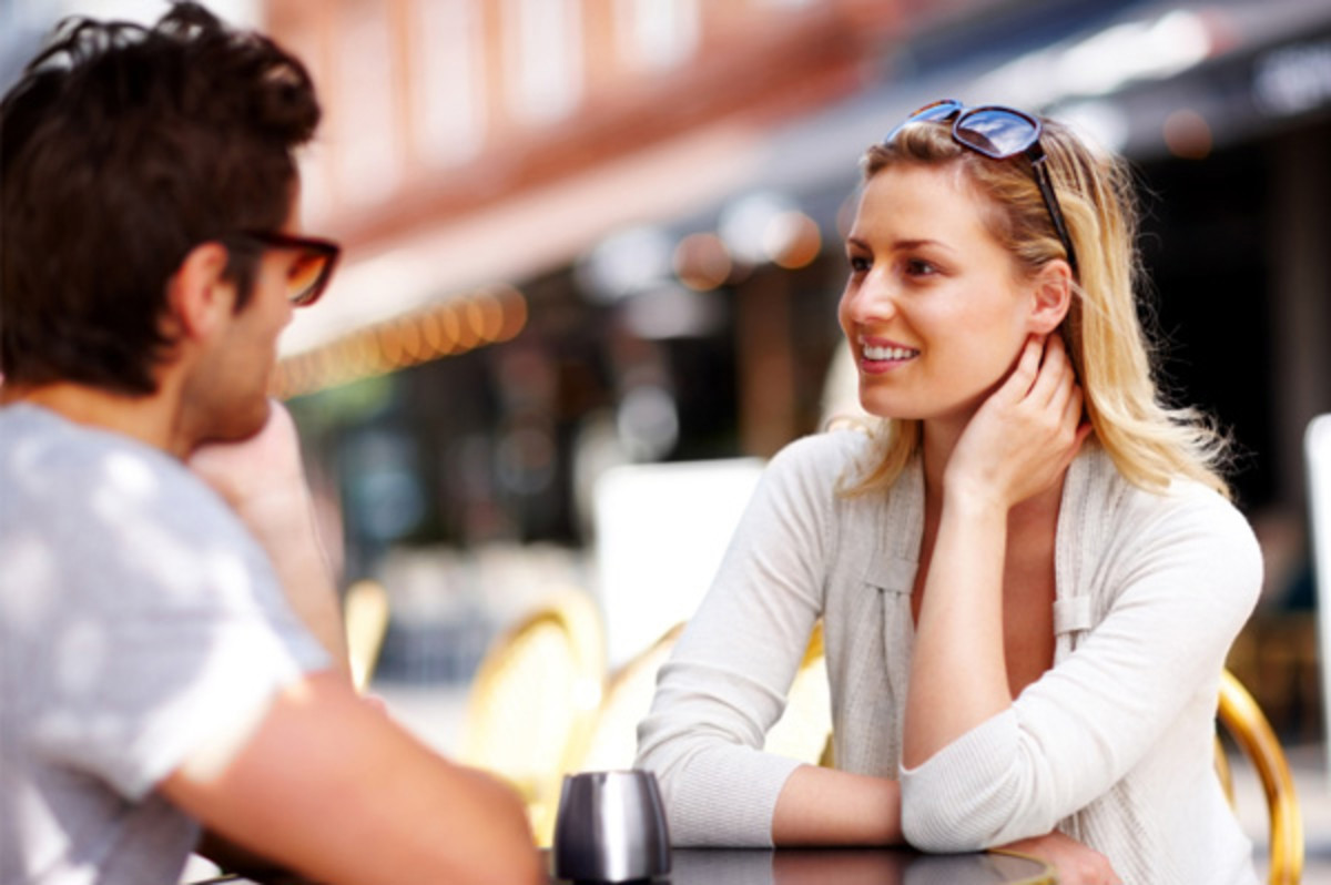 How to tell if a older woman likes you