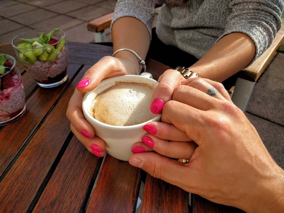 Sometimes just a date to grab a coffee together can be what you need to feel connected.