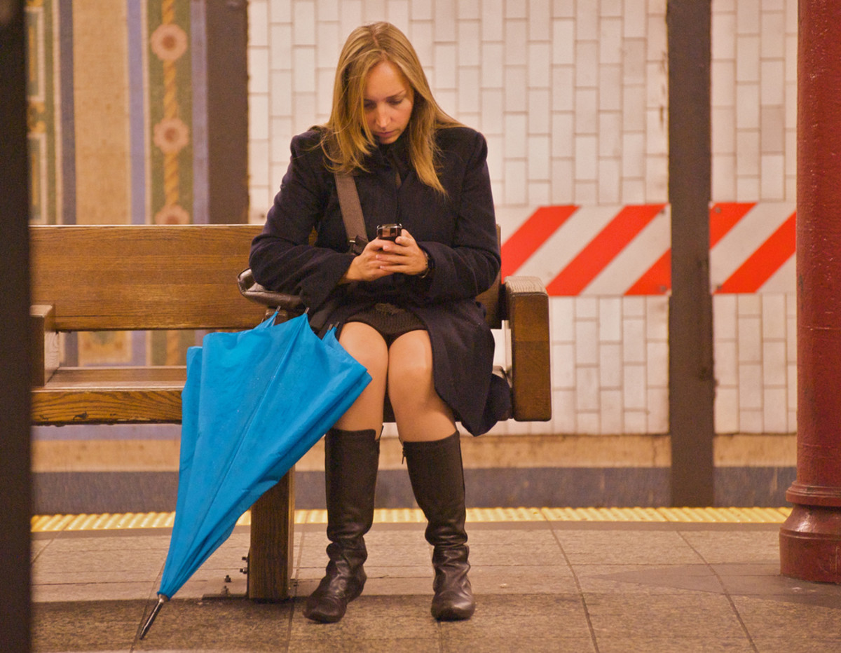 Never break up via text!