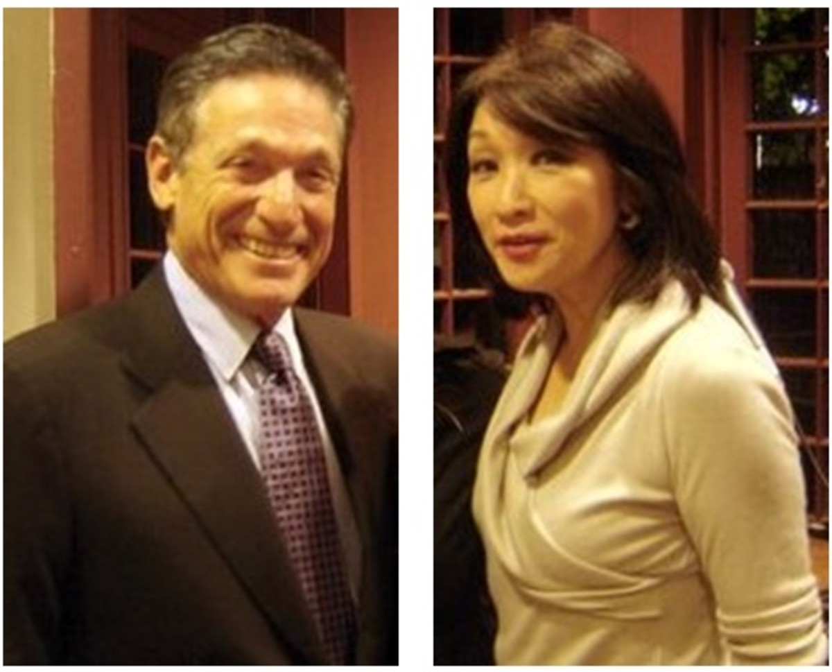 Maury Povich and Connie Chung. Dating and Marriage Among Jewish Men and Asian Women.
