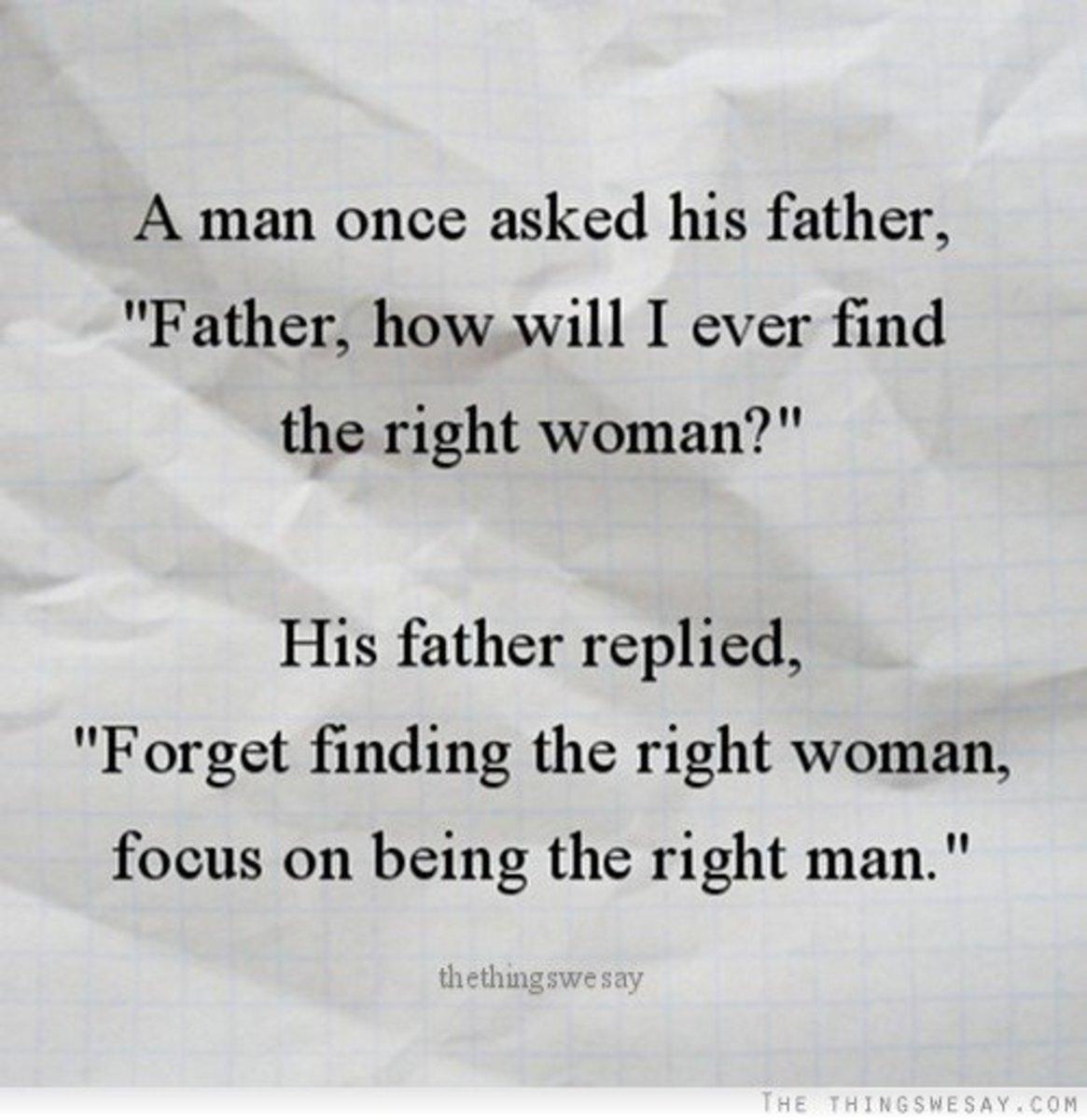 A profound statement.