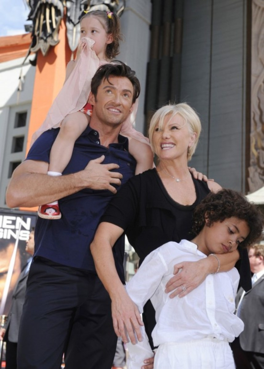 Hugh Jackman: Authentic, masculine, loving husband, family man.. No wonder his marriage of 19 years is so successful. (His wife helped too!)