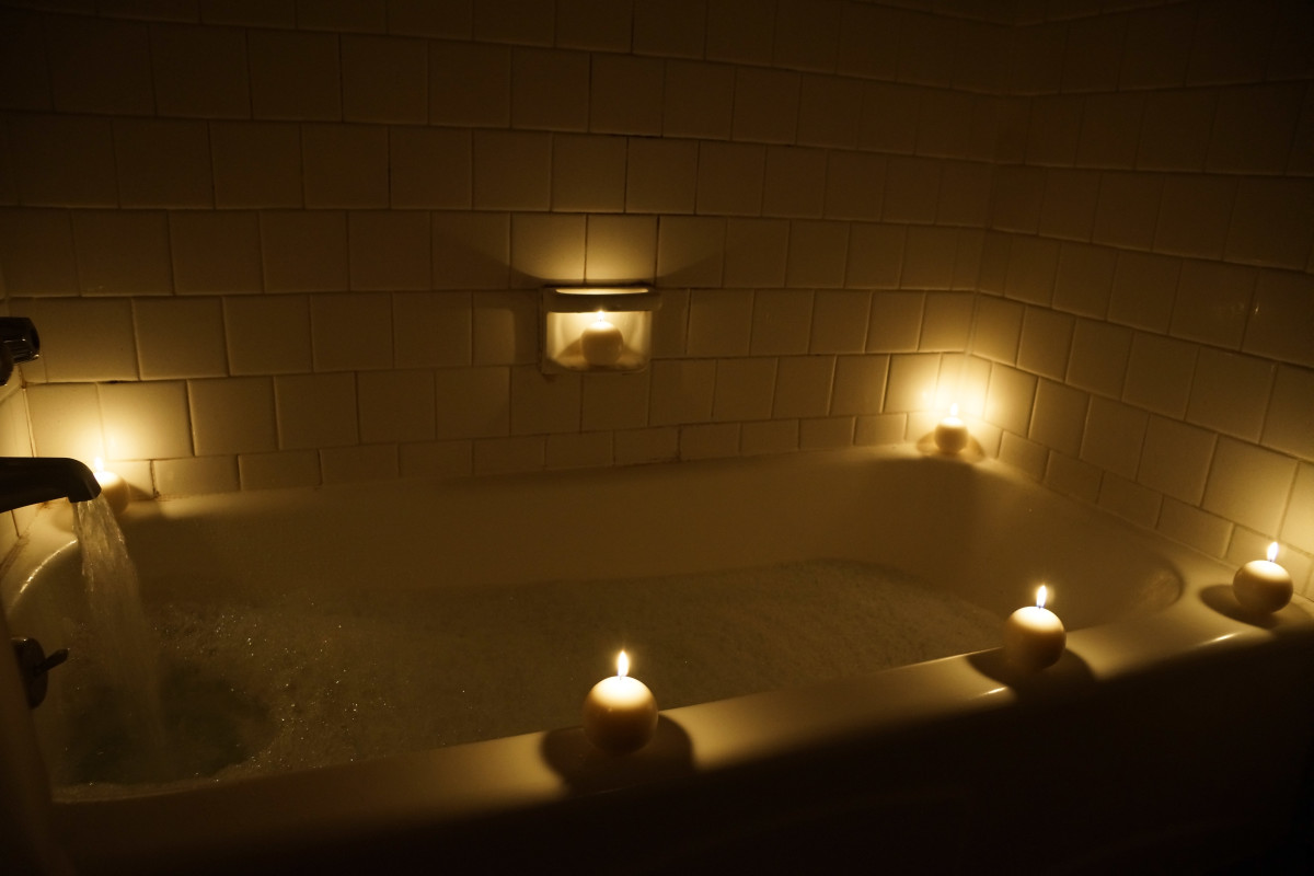 How to Make Her Happy: Draw a Bath and Light Some Candles