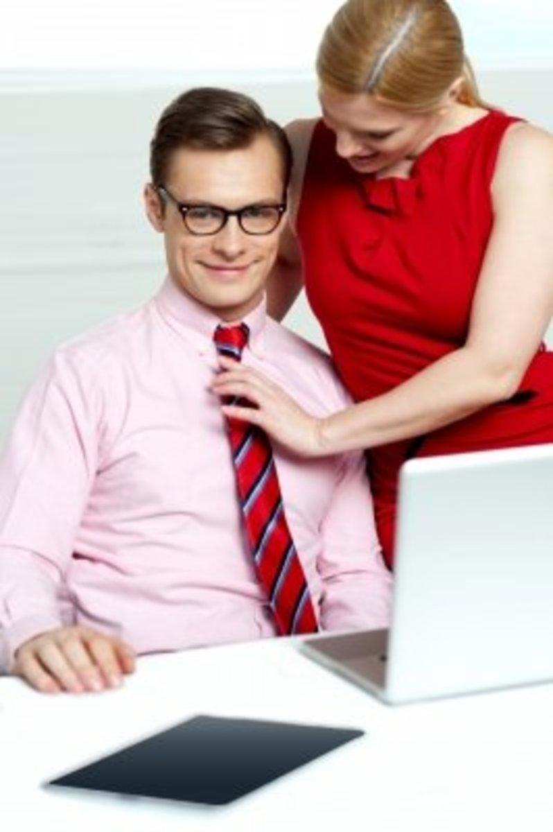 Flirting work spouse 8 Signs