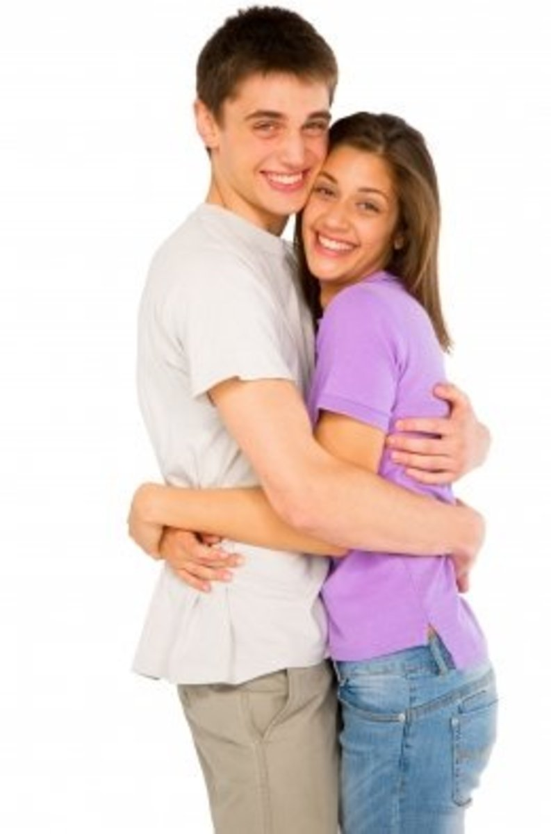 A hug is a warm, cute and cuddly - the perfect recipe for romance.