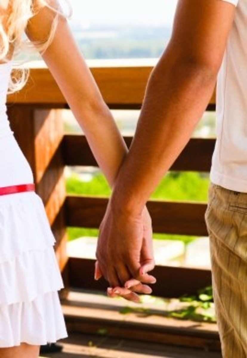Hold her hand often, because that is a romantic way to hold on to her heart.
