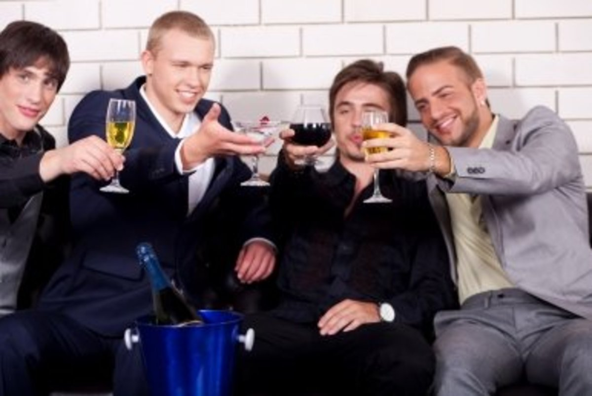 Suggest to your boyfriend that he should have a fun boy's night out with his mates. But don't plan it for him.