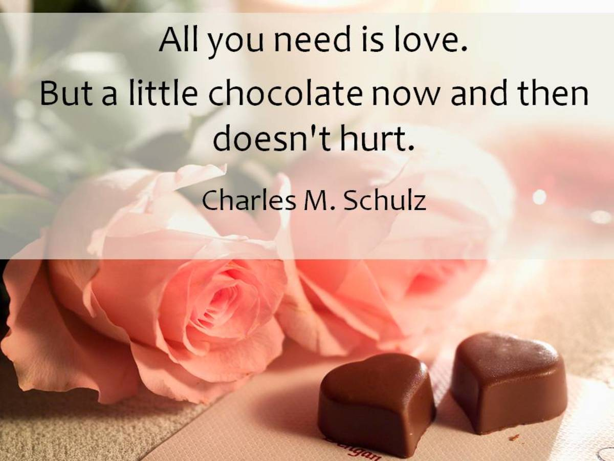 How do you express true love? With chocolate or acts of kindness?