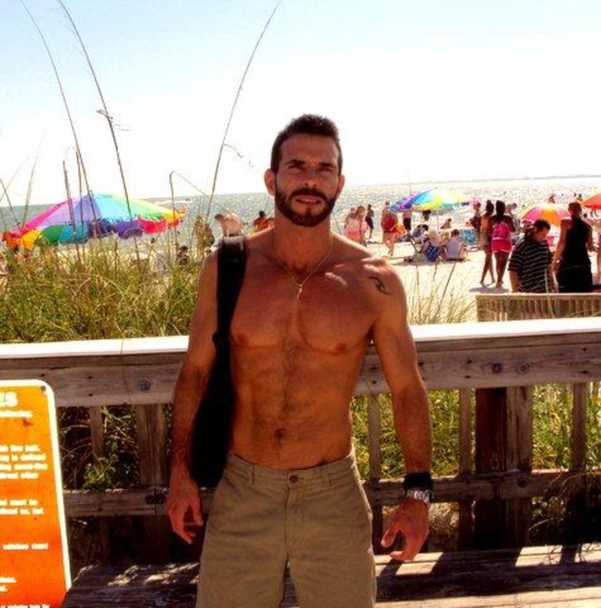 Moore at Beach n Santa Monica
