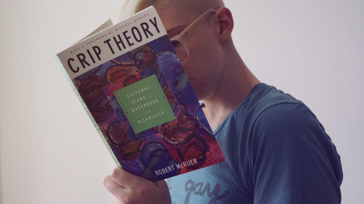 If she's interested in books on queer theory and activism, you can use that as a conversation starter.