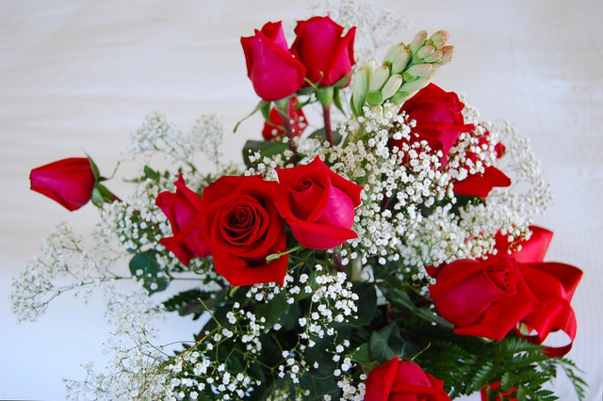 Thirteen roses indicates that they have been sent by a secret admirer!