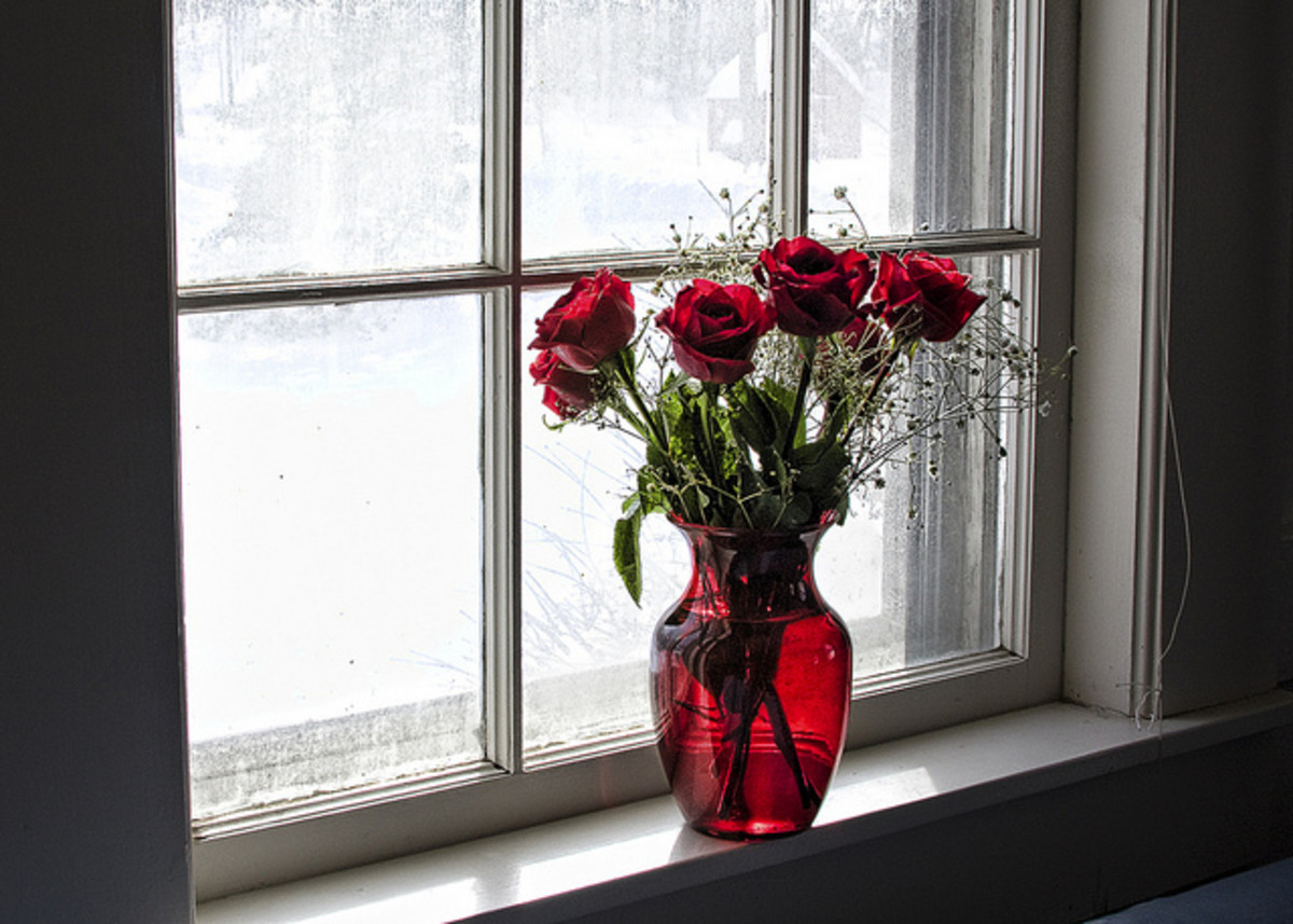 Six red roses mean that the giver desires to be loved. It is a way of asking someone to love you or to belong to you. The meaning is in the giver and not in the recipient.
