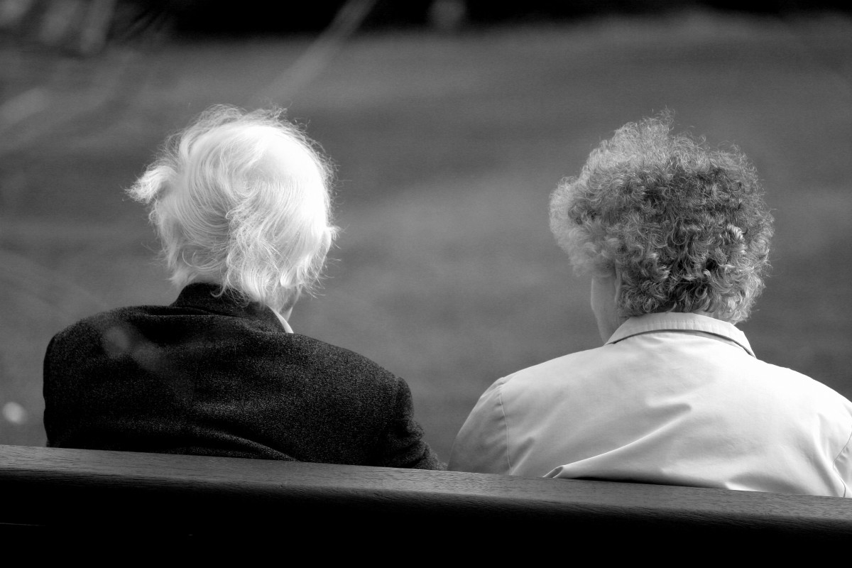 Older couples count on each other for support, assistance and emergencies.