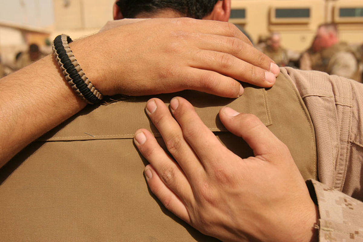 An Embrace and a Prayer
