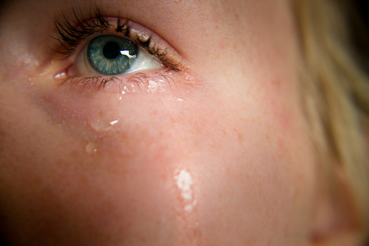 Crying is super healthy, so don't shy away from crying especially after a break up.