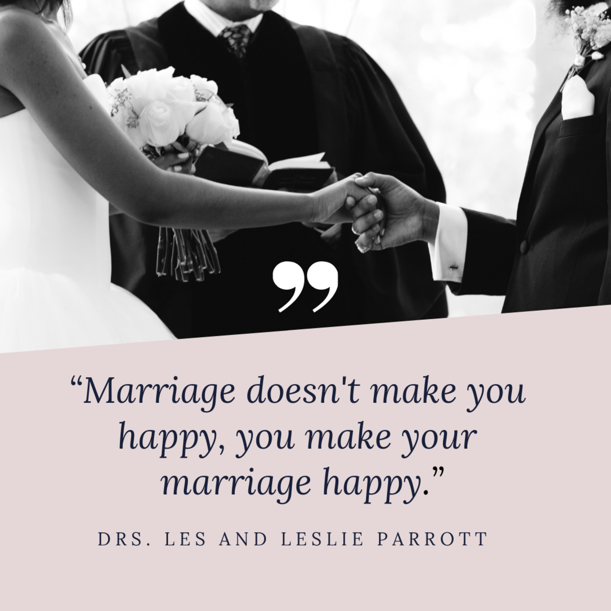 Marriages take work.
