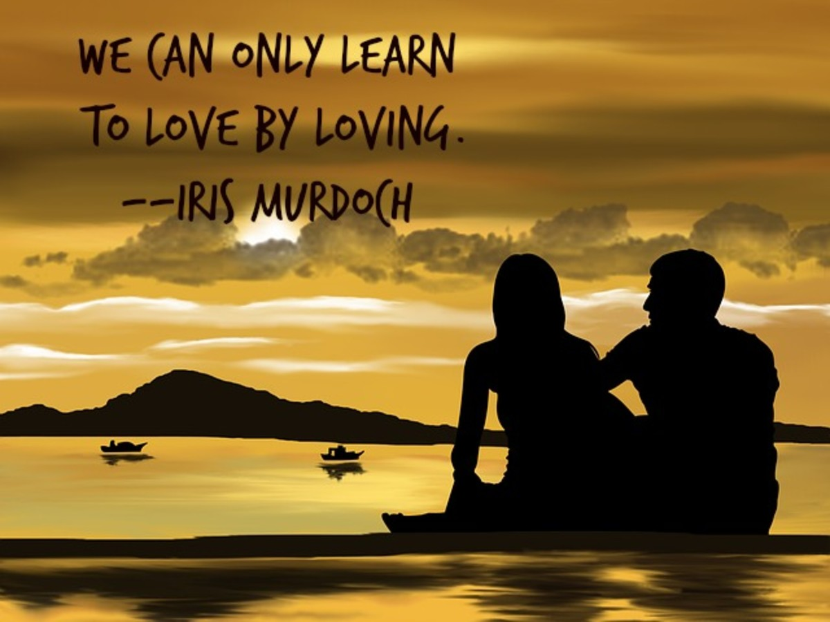 We learn to love by loving,