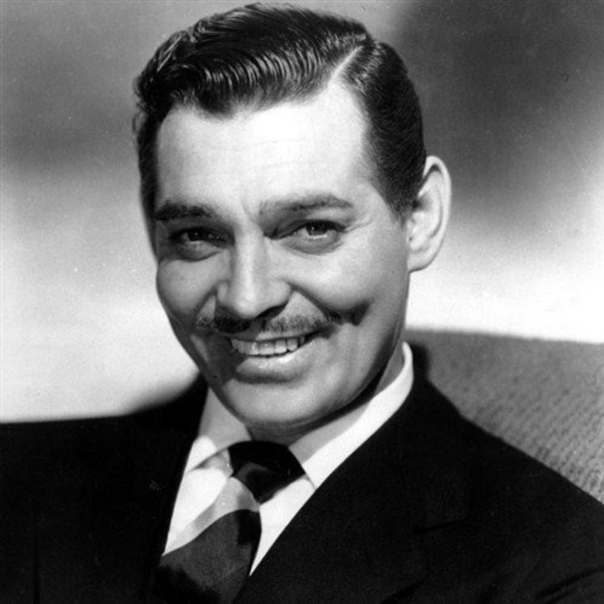 "Clark Gable as Rhett Butler, the master of the ""wicked grin,"" and a man who never once listened to Scarlett's directives."