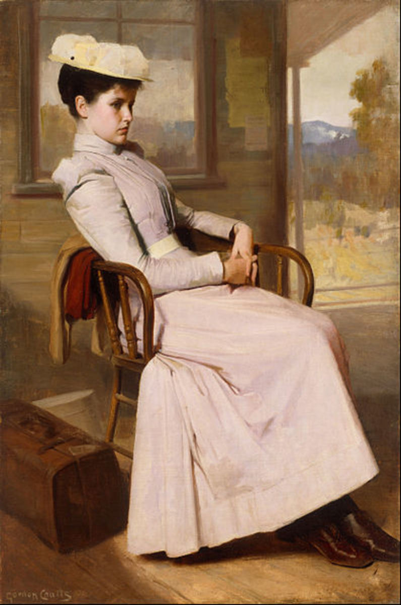 Painting (1896) by Gordon Coutts