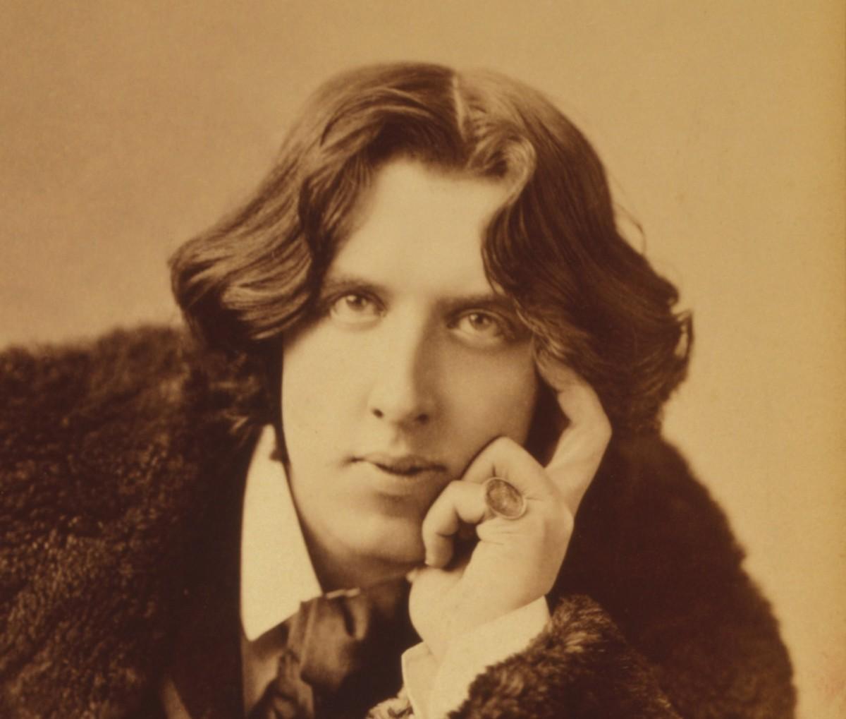 Oscar Wilde born 16 October 1854 died 30 November 1900