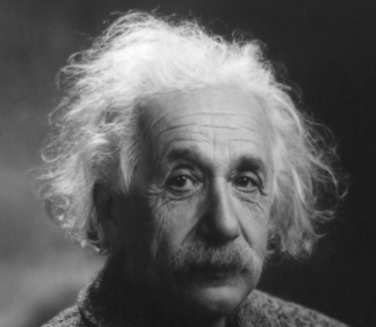 Albert Einstein born 14 March 1879 died 18 April 1955