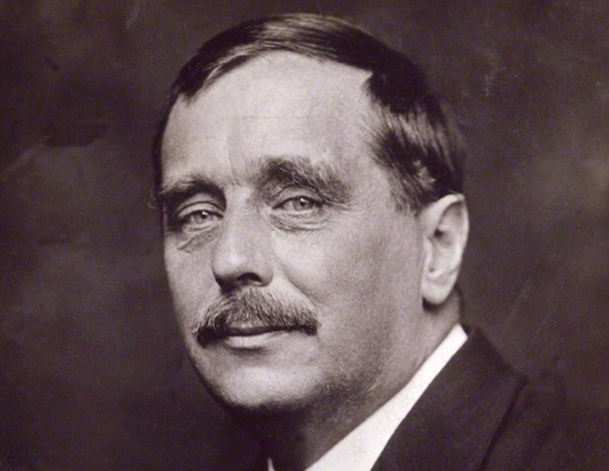 H. G. Wells: Born September 21 1866 died August 13 1946
