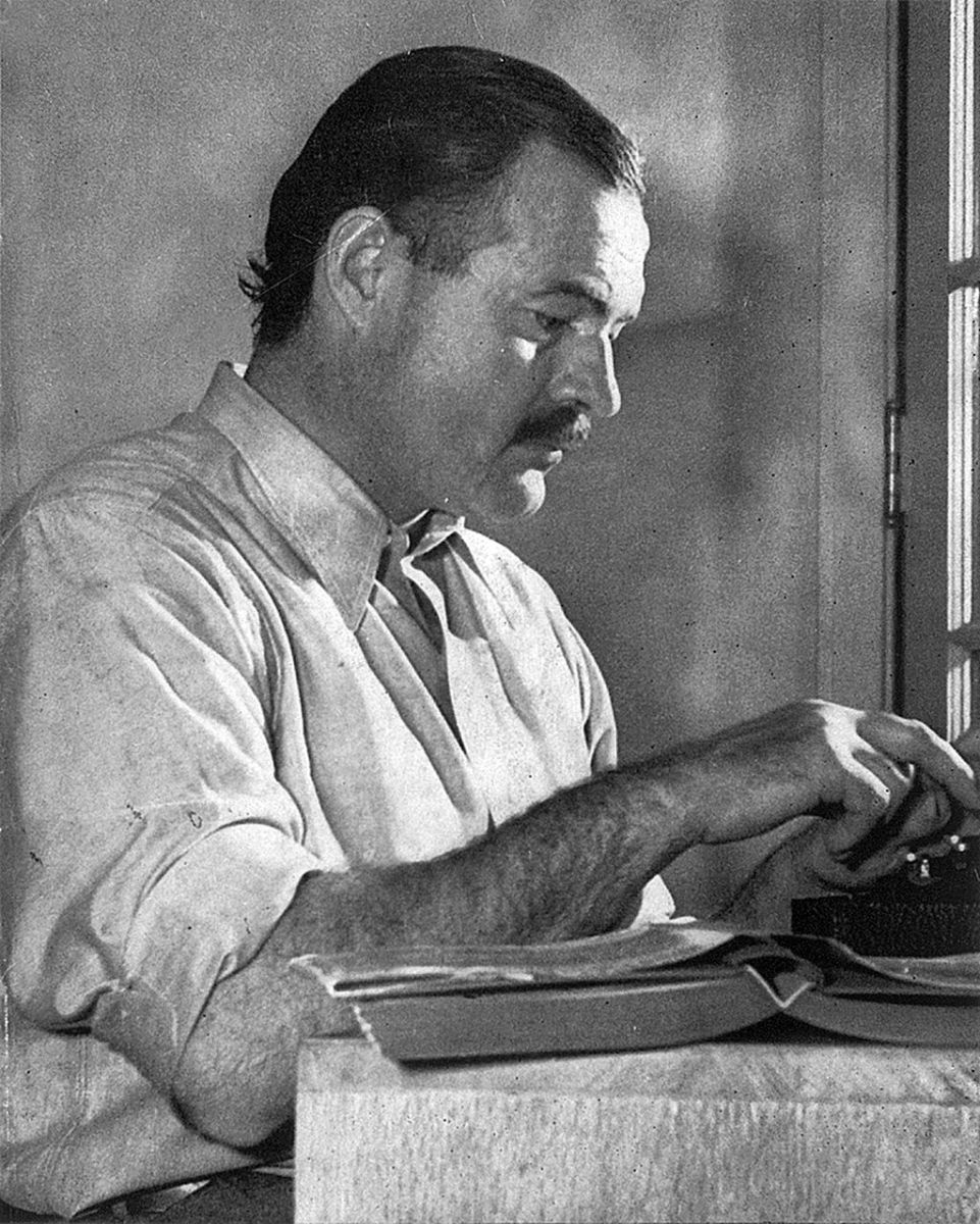 Ernest Hemingway: born July 21 1899 died July 2 1961