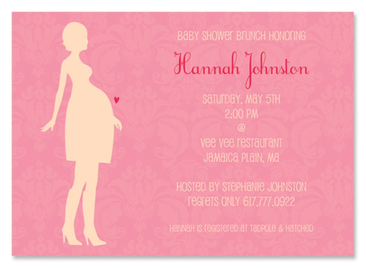 Invitation to an event