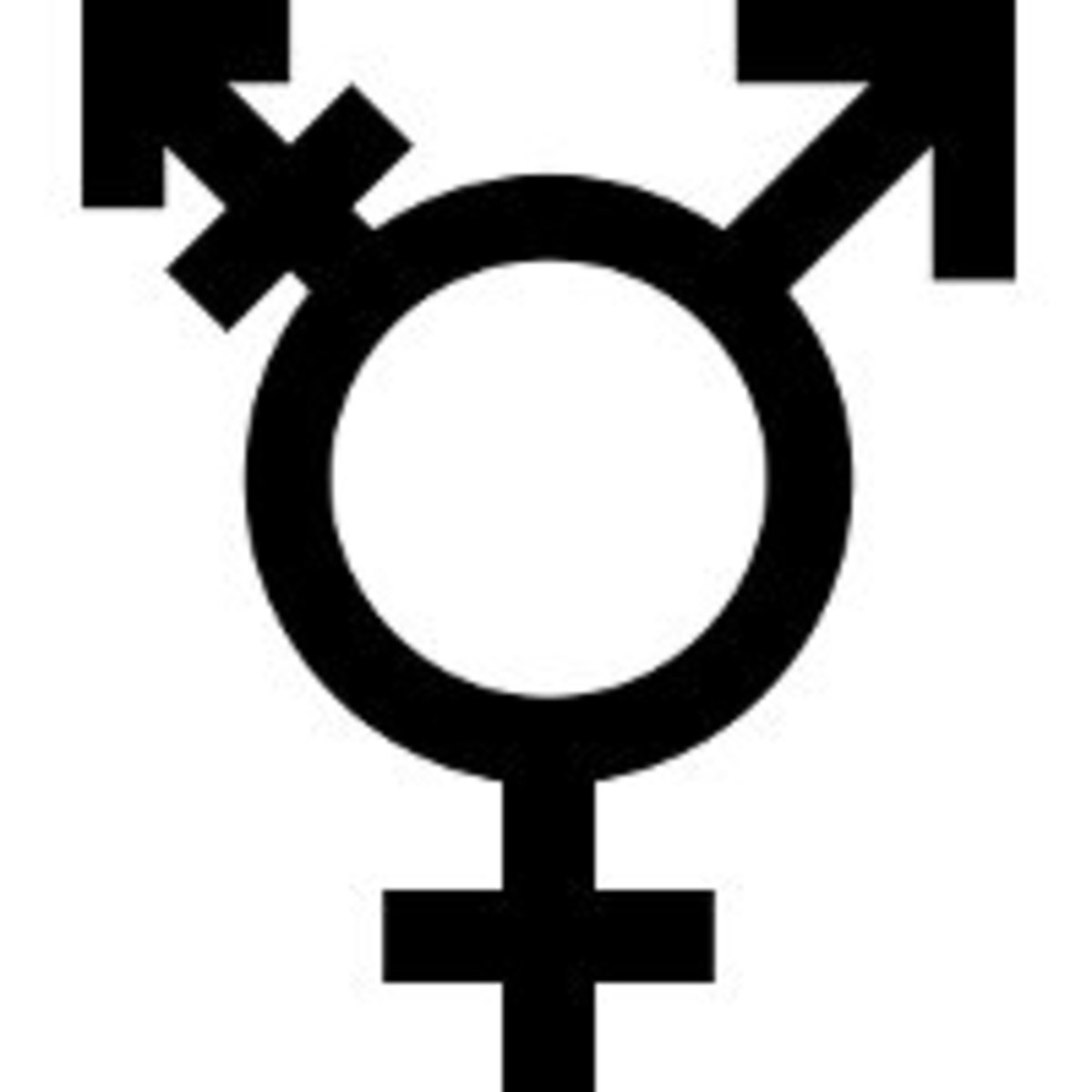 One variant of the transgender symbol