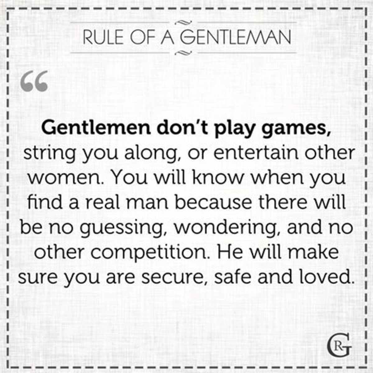 10 Ways To Know You re Dating A True Gentleman