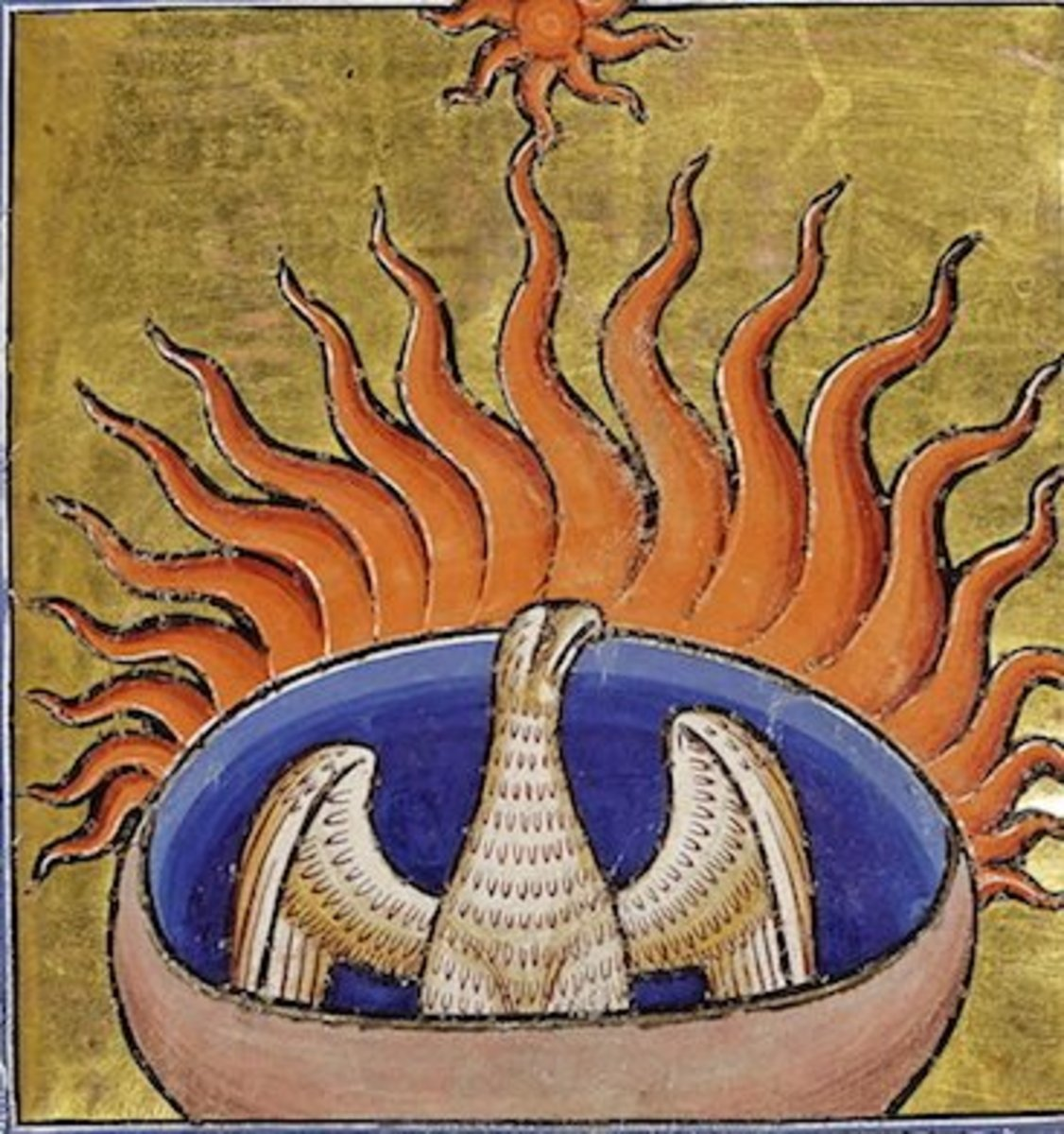 The phoenix is a symbol of rebirth from the ashes of the past. It is also representative of the victory of life over death.