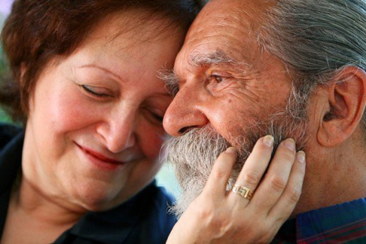 New love is possible at any age - be brave!