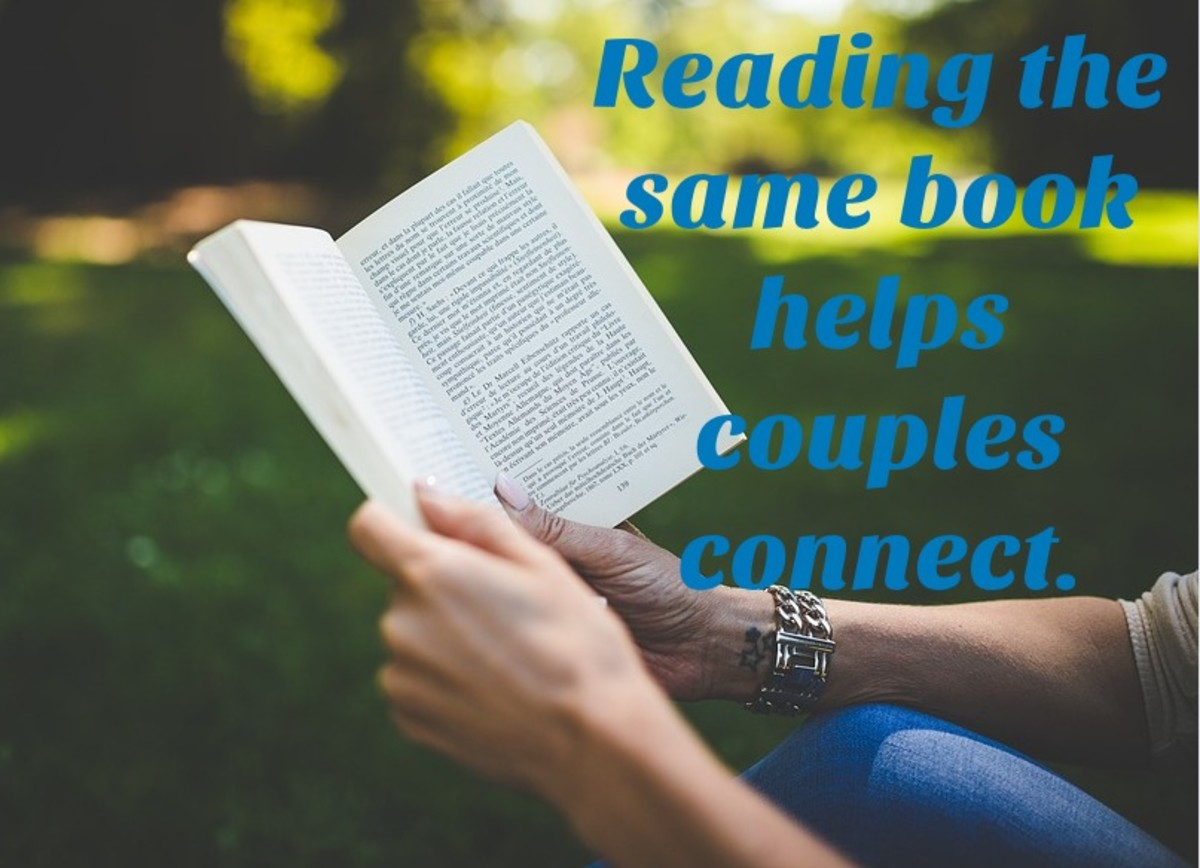 Reading a book about relationships can help a couple become better communicators, lovers, and friends.