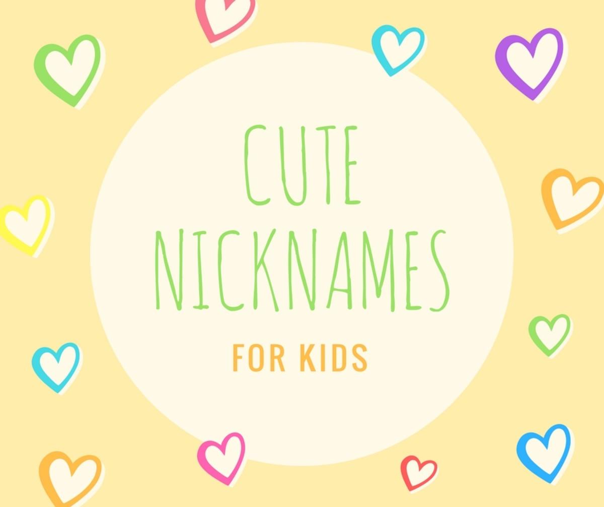 614 Cute Nicknames For Girls Guys Pairedlife Relationships