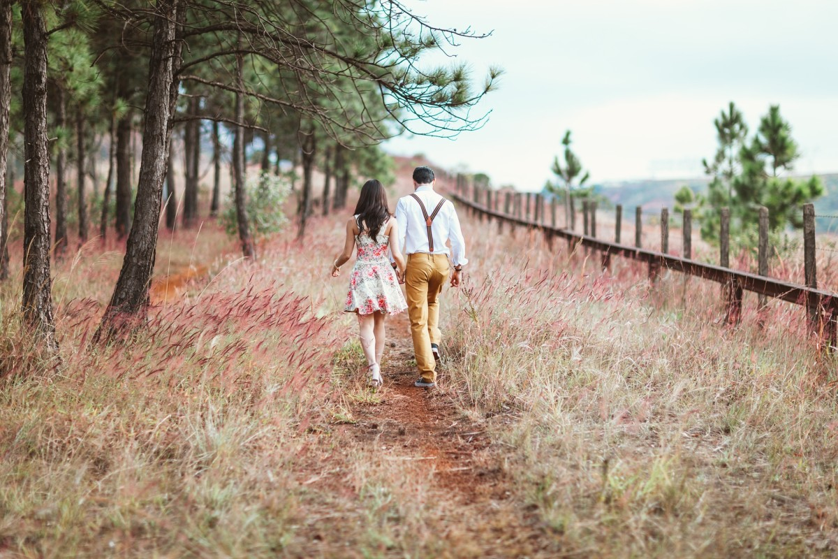 When you and your partner start to feel anxious, bored, or restless, a good long walk together can provide instant stress relief.