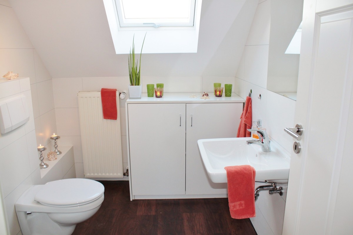 Having to share a bathroom with someone after living alone can be a big adjustment. If you both do your part to keep it clean, you'll both be much happier with the living arrangement.