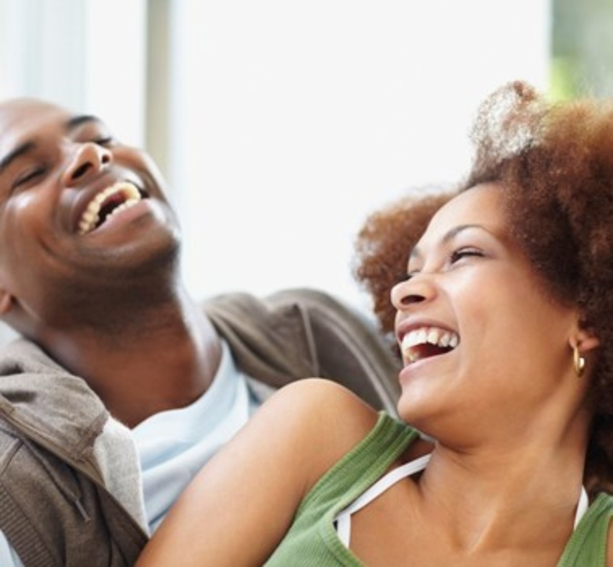Love is laughter