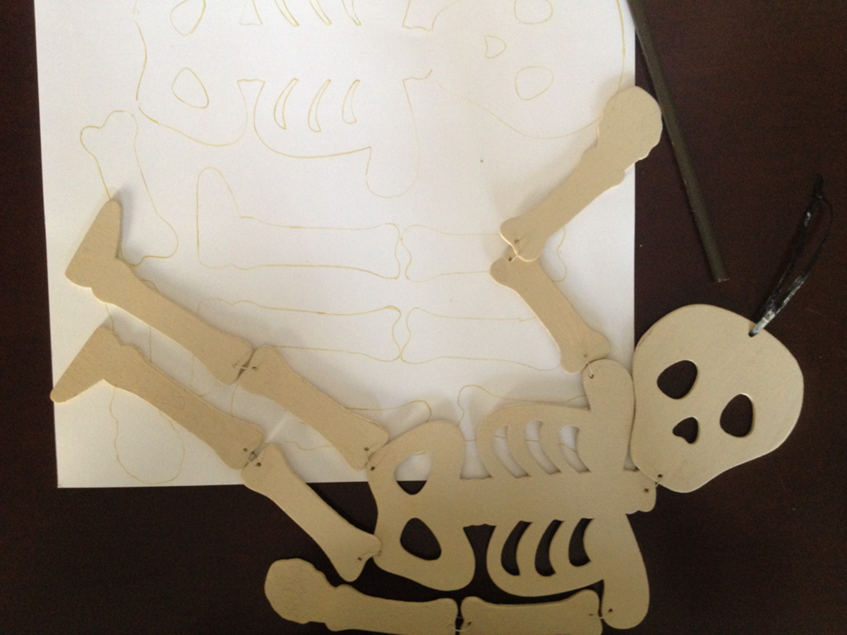 Wood Skeleton for Tracing