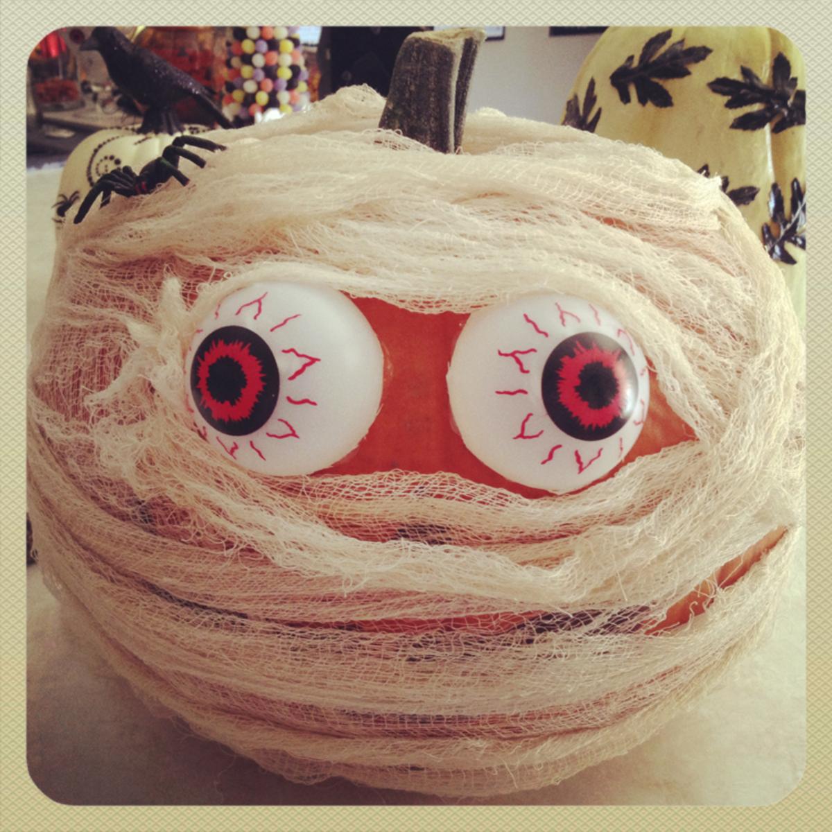 No Carve Halloween Pumpkins Ideas For Decorating